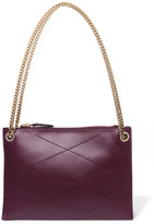 Lanvin Sugar Small Quilted Leather Shoulder Bag - Grape