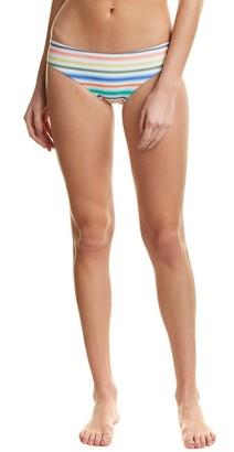 Shoshanna Women's Ombre Stripe Hipster Bikini Bottom