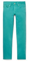 Tory Burch Alexa Cropped Skinny Jean