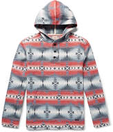 Faherty Pacific Cotton-Jacquard Hoodie