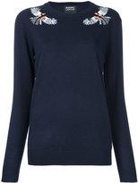 Markus Lupfer embellished bird sweater
