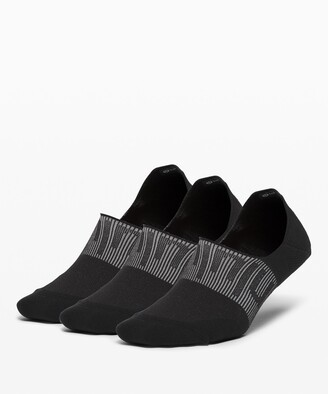 Lululemon Power Stride No-Show Sock with Active Grip *Anti-Stink 3 Pack
