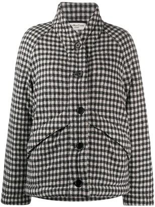 YMC Gingham Check Padded Coat