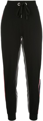 NO KA 'OI No Ka' Oi stripe panel track pants