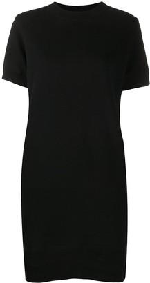 Sacai transparent back T-Shirt dress