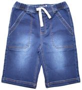 Preview Stitch Denim-Look Shorts