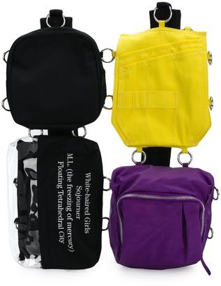 Raf Simons x Eastpack Loop Quote pocket bag