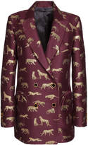 Blaz Milano Tigris Embroidered Double Breasted Blazer