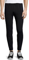Theory Demir Stretch Sweatpants, Black