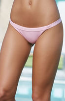 La Hearts Ribbed Cheeky Bikini Bottom