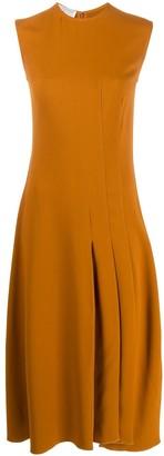 Victoria Beckham Flared Midi Dress