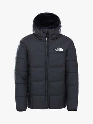 The North Face Boys' Reverse Perrito Jacket, Black