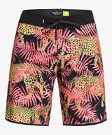 Quiksilver Men's Board Shorts FIERY - Fiery Coral High Camo Board Shorts - Men & Big