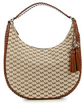 MICHAEL Michael Kors Signature Lauryn Large Shoulder Bag