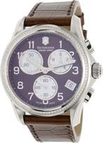 Victorinox Women's 241420 Leather Swiss Chronograph Watch