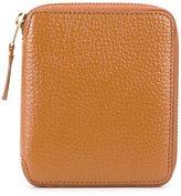 Comme des Garcons colour inside zip wallet - unisex - Calf Leather - One Size