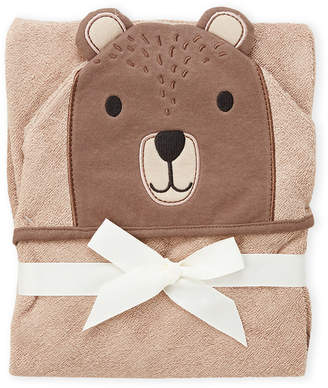 Hudson Baby Newborn/Infants) Modern Bear Hooded Towel