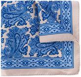 Borrelli - floral print scarf - men - Silk - One Size