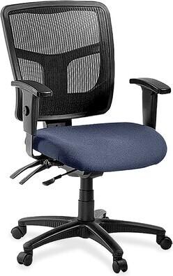 Arrington Mesh Task Chair Upper Squarea Color: Blue