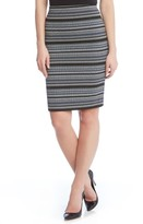Karen Kane Women's Jacquard Pencil Skirt