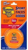 Banana Boat Faces Clear Zinc Jar, SPF 50