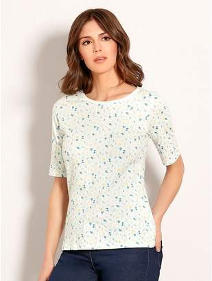 M&Co Brakeburn floral t-shirt