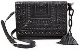 Steve Madden Steven by Alina Tasseled Whip-Stitched Cross-Body Bag