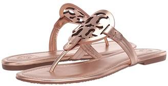 Tory Burch Miller Flip Flop Sandal (Black II) Women's Shoes