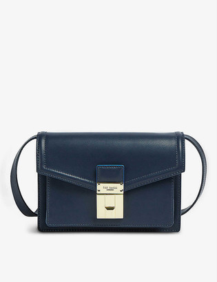 Ted Baker Kayleea Luggage leather cross-body bag