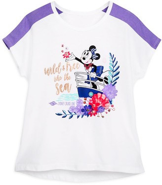 Disney Minnie Mouse ''Wild and Free'' T-Shirt for Girls Cruise Line