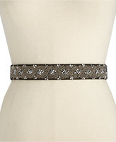 INC International Concepts Clustered Beaded Stretch Belt, Created for Macy's