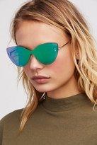 Free People Sneaky Kitty Shield Sunglasses