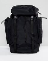 Polo Ralph Lauren Nylon Backpack In Black