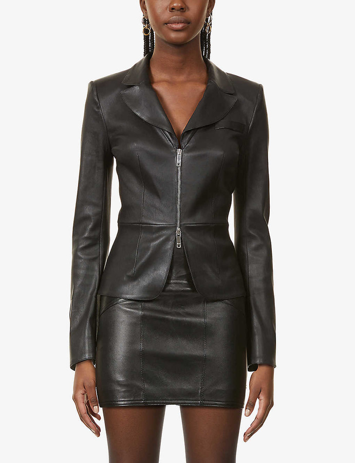 Jitrois Laeticia zipped leather jacket