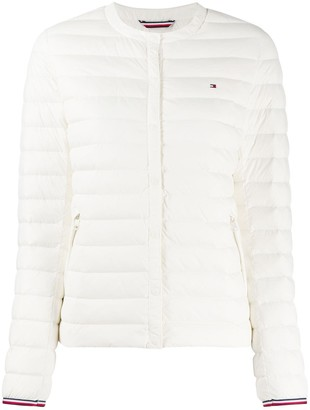 Tommy Hilfiger Embroidered Logo Puffer Jacket