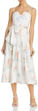 Rebecca Taylor Hydrangea Bow Dress