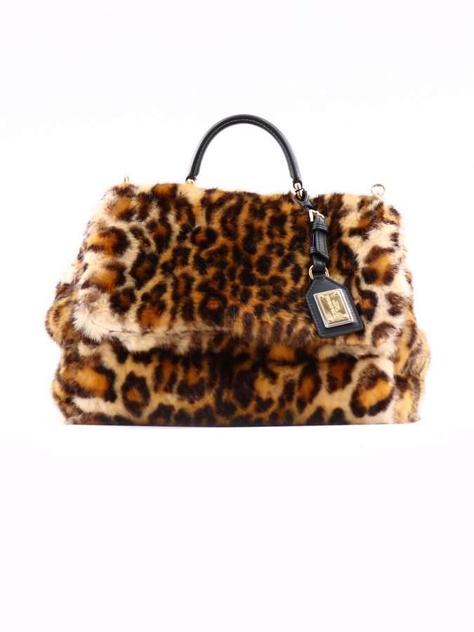 Dolce & Gabbana Animalier Sicily Bag