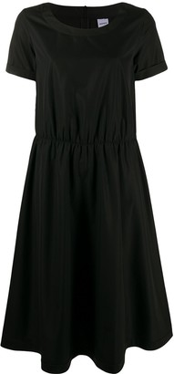 Aspesi Short-Sleeved Flared Dress