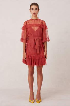 Keepsake MERAKI MINI DRESS dusty pink