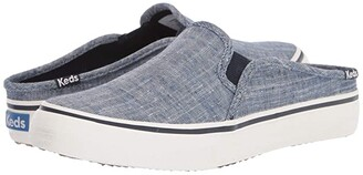 Keds Double Decker Mule Seasonal Solids (Chambray) Women's Shoes