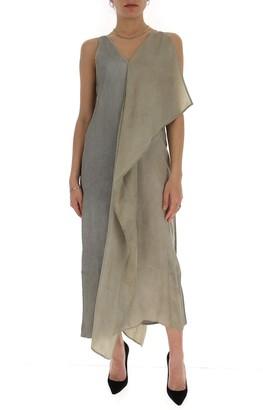 UMA WANG Asymmetric Sleeveless Dress