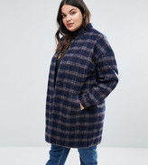 Junarose Check Coat With Belt