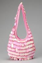 Popatu Pink Sequin Hobo