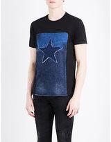 Diesel Davi Star-detailed Cotton-jersey T-shirt