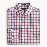 J.Crew Crosby shirt in red and blue tattersall