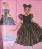 Simplicity 4901 Daisy Kingdom Dress Pattern Girls 3 to 6 Sweet Memories