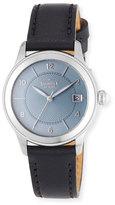 Shinola Gail 36mm Slate Blue Watch with Black Leather Strap