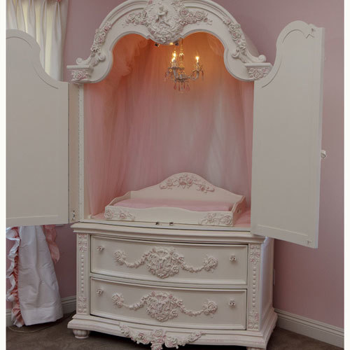 Mirabelle Armoire with Changing Station