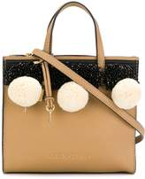 Marc Jacobs bead and pompom tote