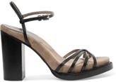 Michael Kors Raina leather sandals